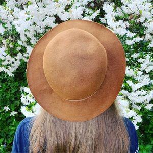 Vintage Jay Lord Hatters NY Boho Brown Felt Hat